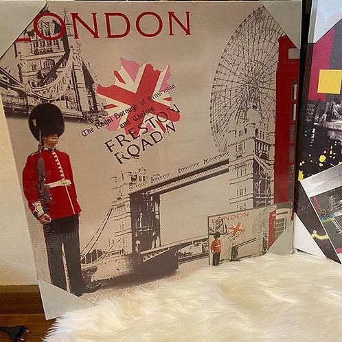 Quadro tema Londres - novo