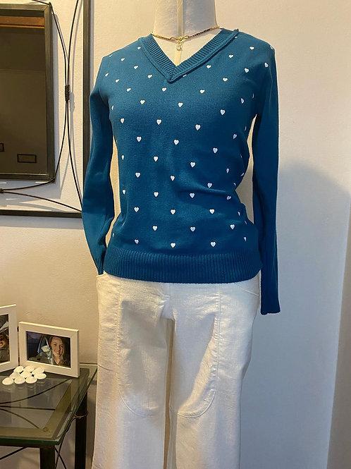 Blusa em tricot - Tam Unico SEM USO!