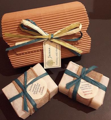 2 Handmade Soaps in Gift Box