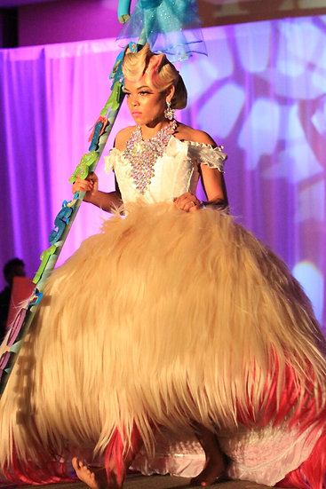 Halloween Hair and Costume  Fantasy Competition