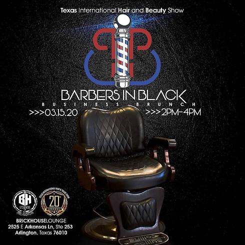 Barbers in black business brunch