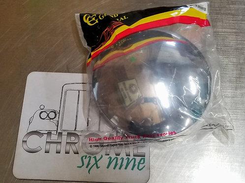 """Chrome 8"""" ID Rear Hub Cap Cover"""
