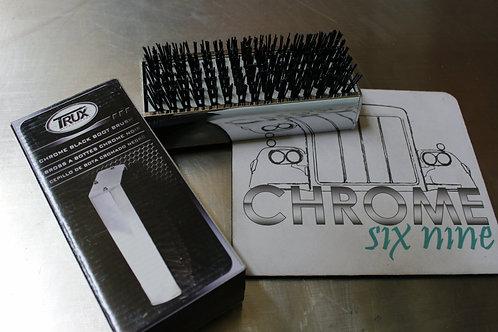 Chrome Boot Brush