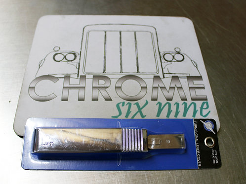 Chrome Turn Signal Lever Cover