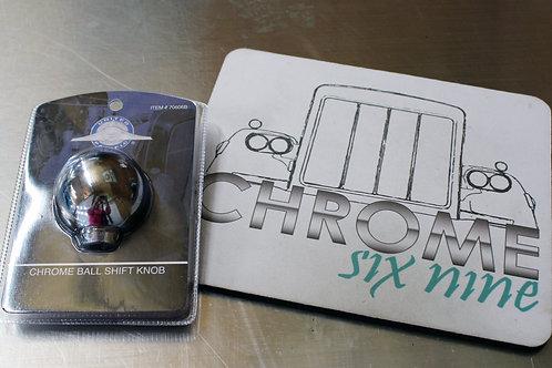 Chrome Gear Ball Shifter