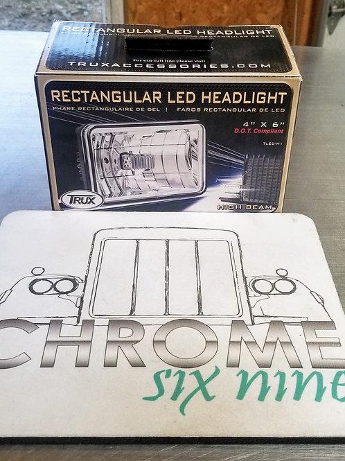 Rectangular LED Headlight - High Beam
