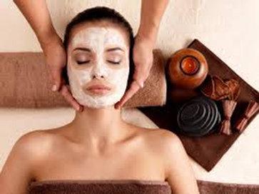 """Soin massage du visage sublimateur """"rituel aux cinq fleurs"""""""