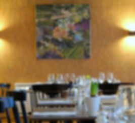 Salle de restaurant Bistrot des Grands Crus