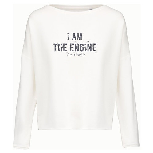 I am the engine sweater dames