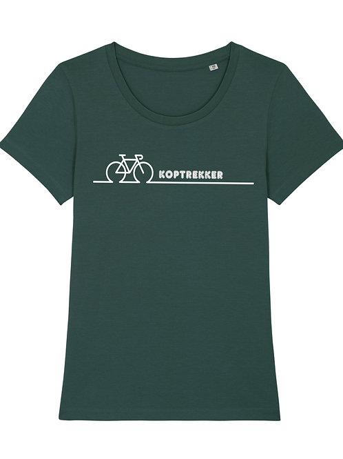 KOPTREKKER t-shirt dames