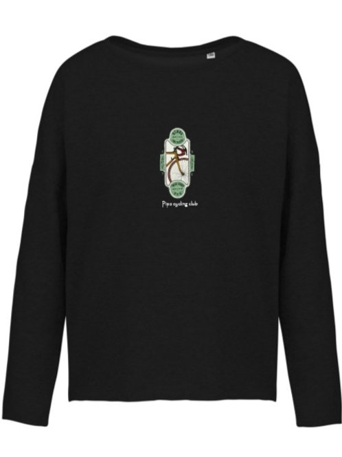 """""""Bikes bring you places"""" sweater vrouwen"""
