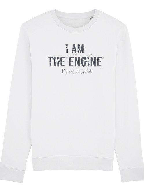 I am the engine sweater men