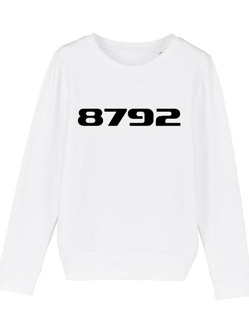 POSTCODE kinder sweater wit