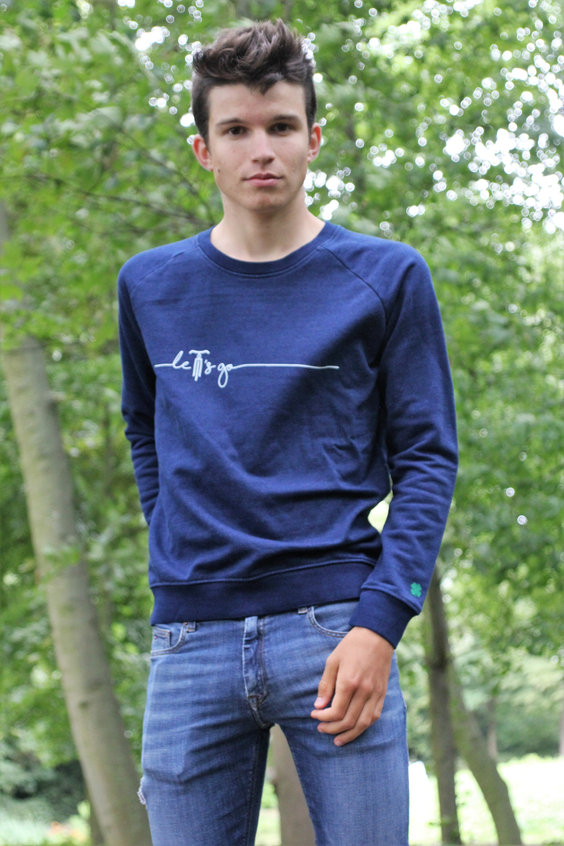 sweater let's go casuals cycling wear