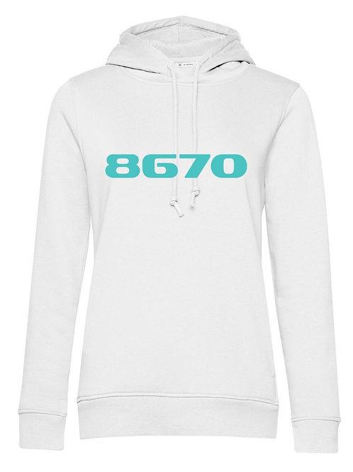 POSTCODE hoodie wit vrouwen
