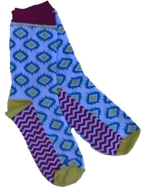 Hippie color sokken