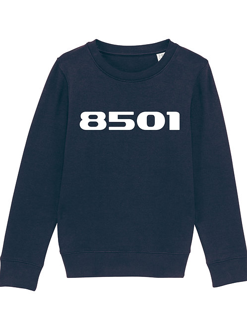 POSTCODE kinder sweater zwart