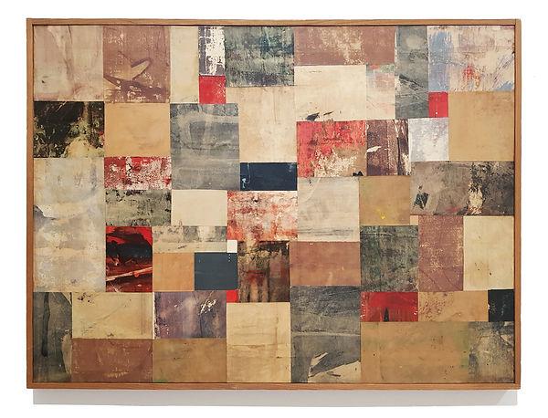 Nuvolo_Senza Titolo, 1957_olio e collage