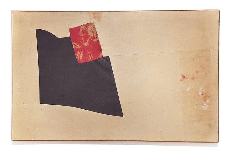 Nuvolo_Senza Titolo_1956_ pittura su tes