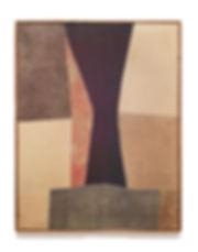 Nuvolo_Clessidra_1958_ pittura a olio su