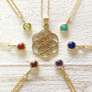Seed of Life in 18K gold
