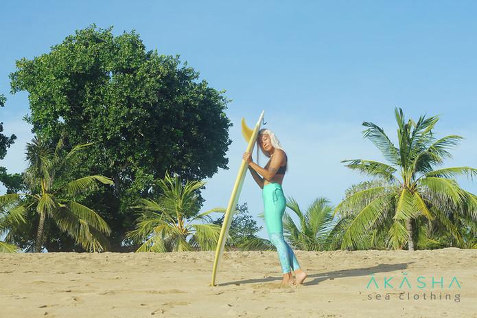 High-Waist Surf Leggings