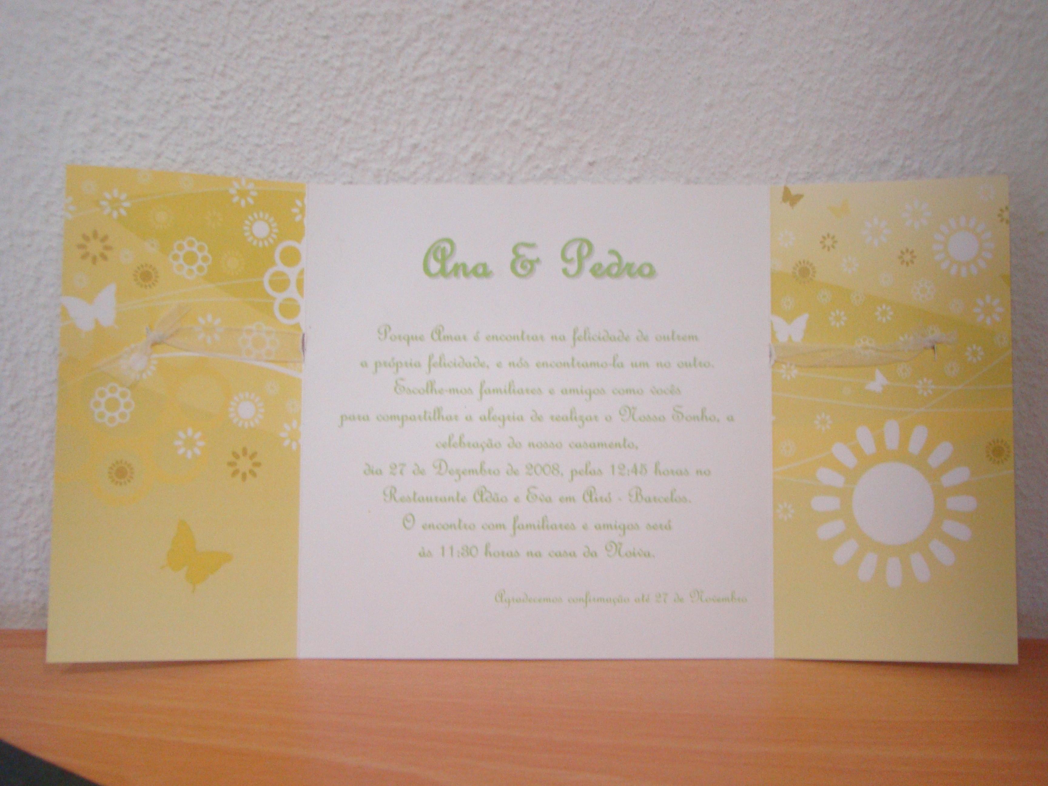 Convite 28 interior