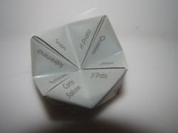 Menu Origami