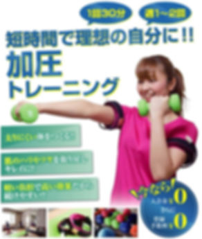 旭川加圧トレーニングスタジオ トルク 入会・料金案内