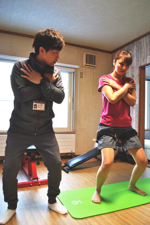 旭川加圧トレーニングスタジオ トルク 風景