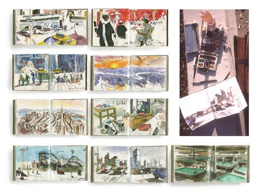 A New York Sketchbook