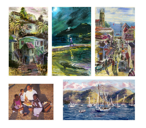 Caribbean Drawing Adventure