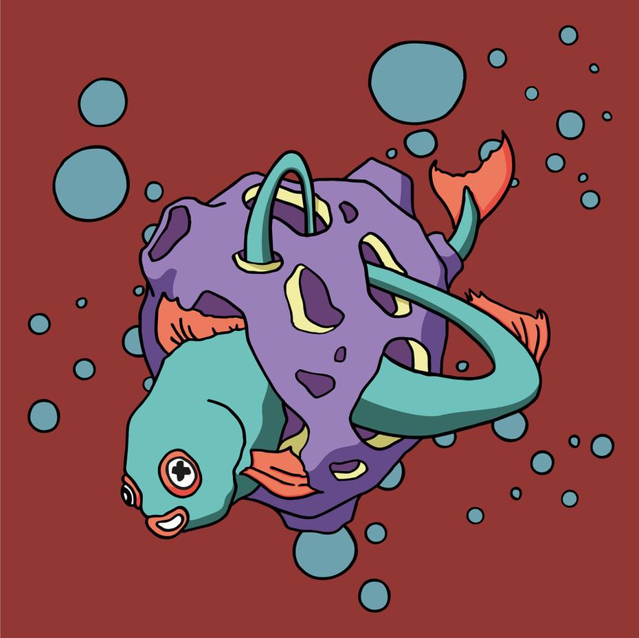 OXU Planet series : Red swiming pool