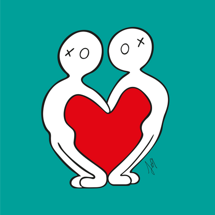 OXU : Two make a heart