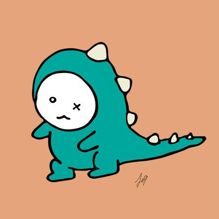 OXU : Mini dinosaur