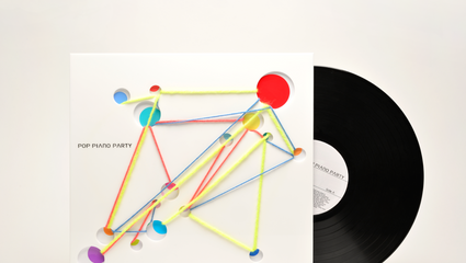 Cover design [Vinyl] : POP PIANO PARTY