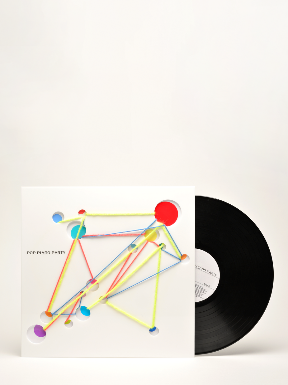 Cover design [Vinyl] : POP PIANO PARTY