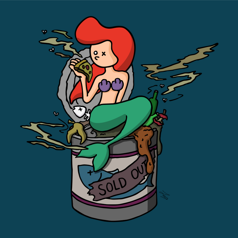 OXU Waste series : What happens under the sea