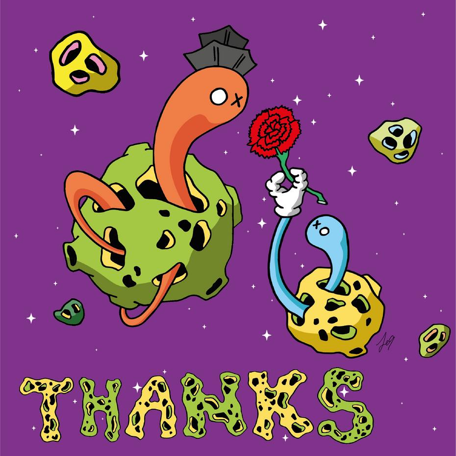 OXU Planet series : Thanks vol 2