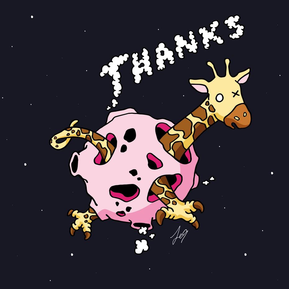 OX Planet series : Thanks vol 1 (Night)