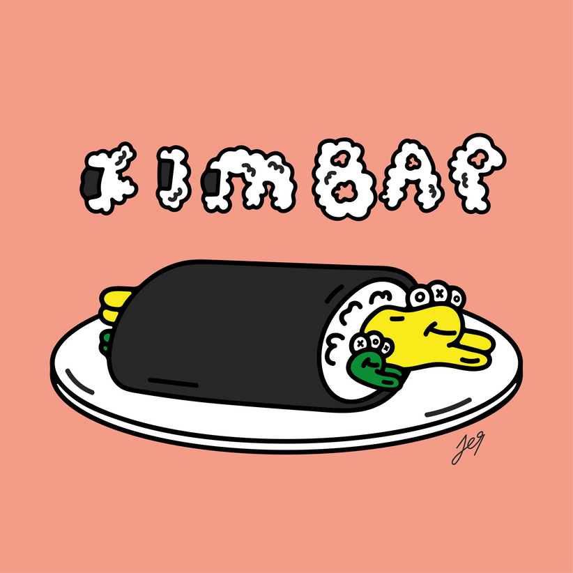 OXU friends_kimbap