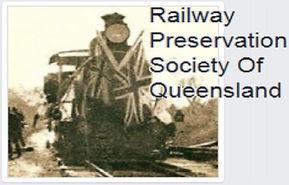 railway preservation society of Qld logo