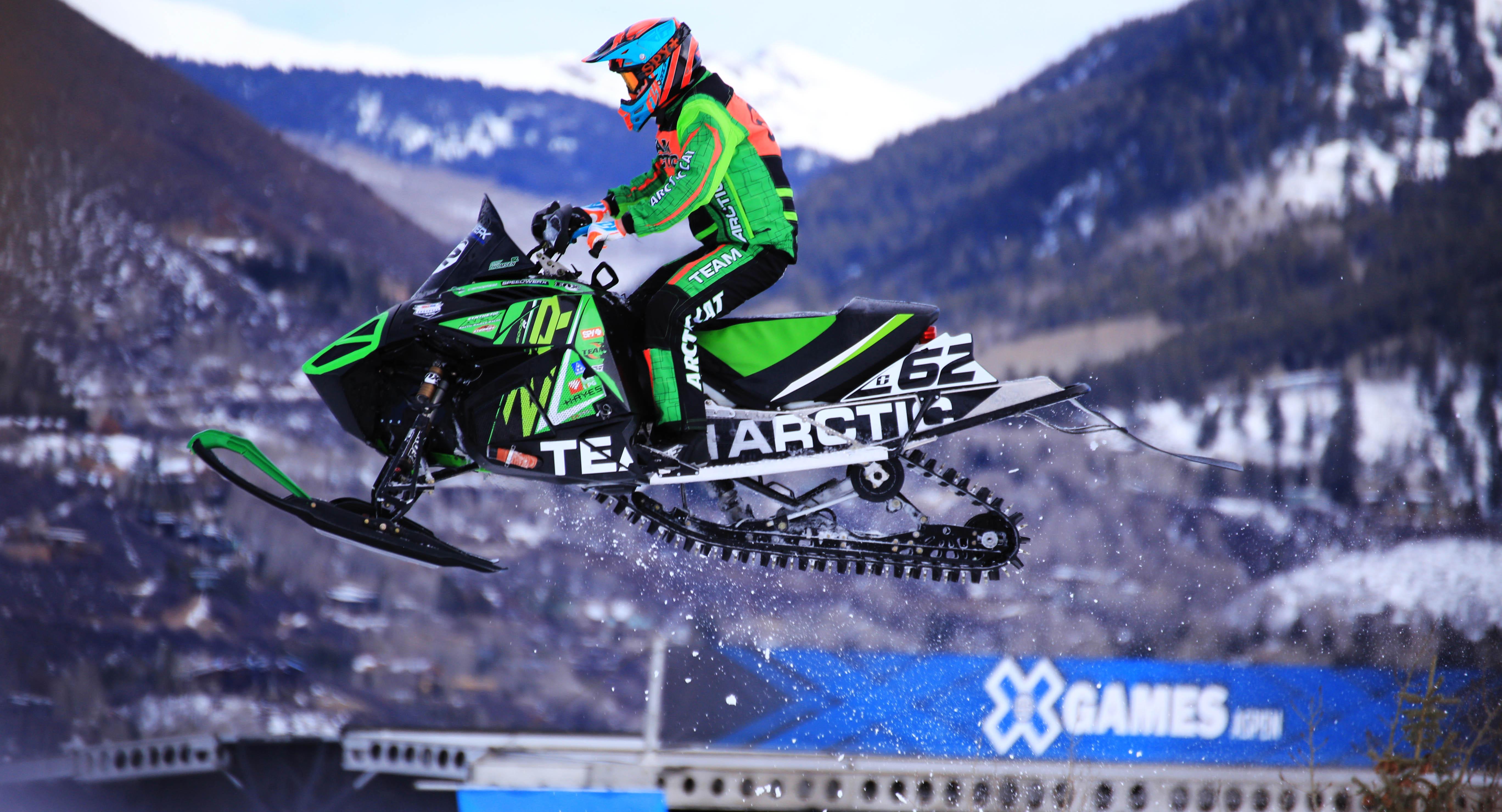 X Games 2015 - Snocross - Aspen, CO