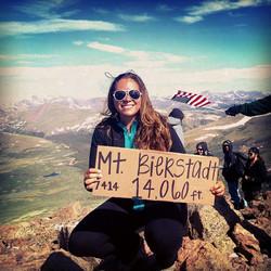 Mt. Bierstadt - Elv. 14,060 ft