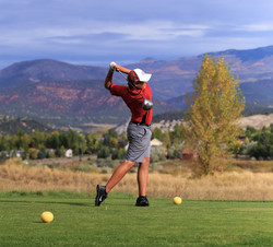 CHSAA Golf State Championships - Eagle, CO - Eagle Ranch Golf Course