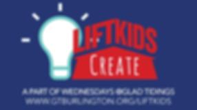 LIFT Kids Create Fall 2019 - Generic Sli