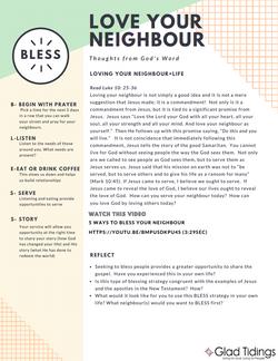 Bless Devo & Prayer Guide