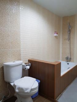ห้องน้ำภายในห้องพัก