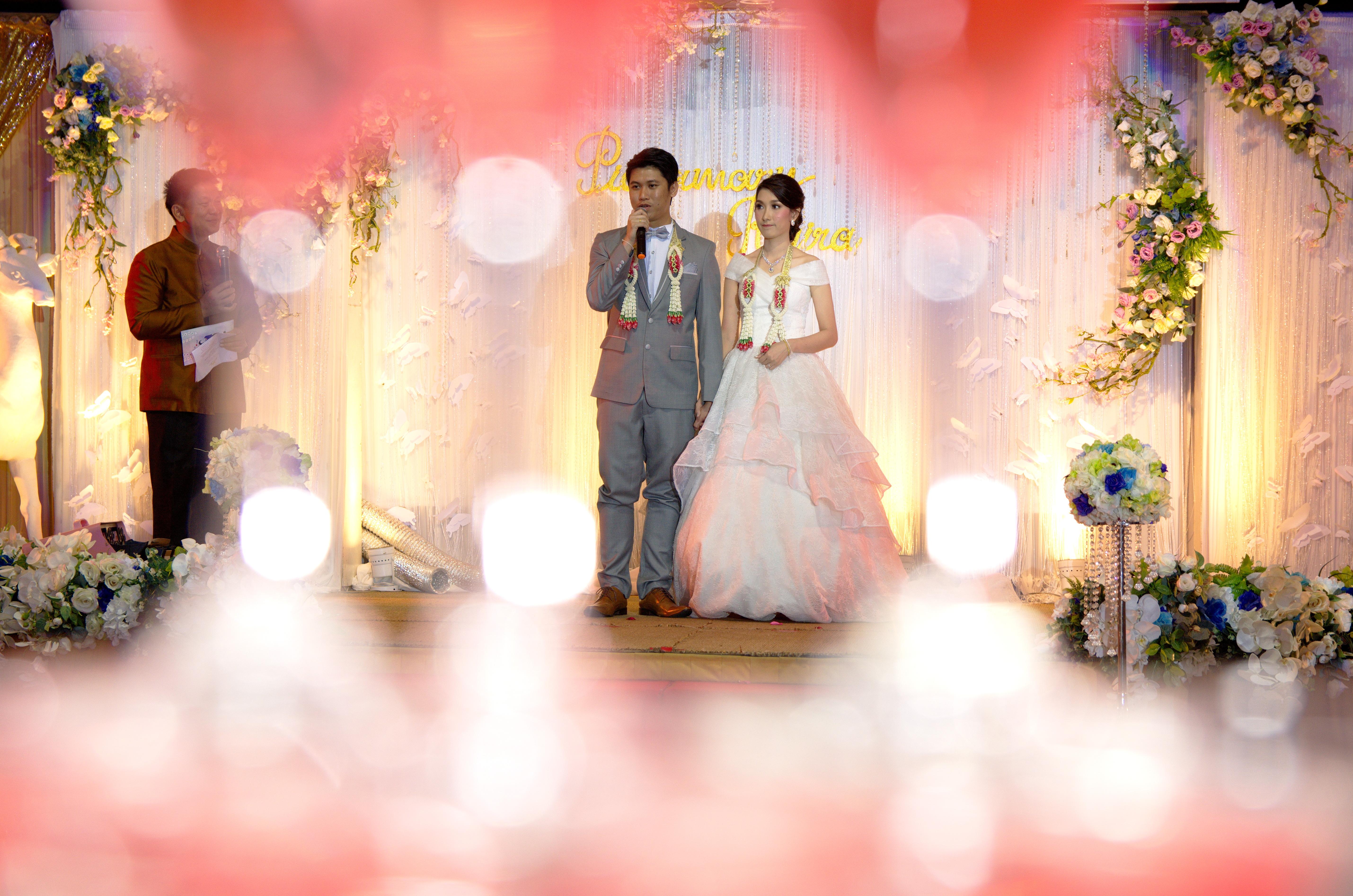 บรรยากาศงานแต่งงาน