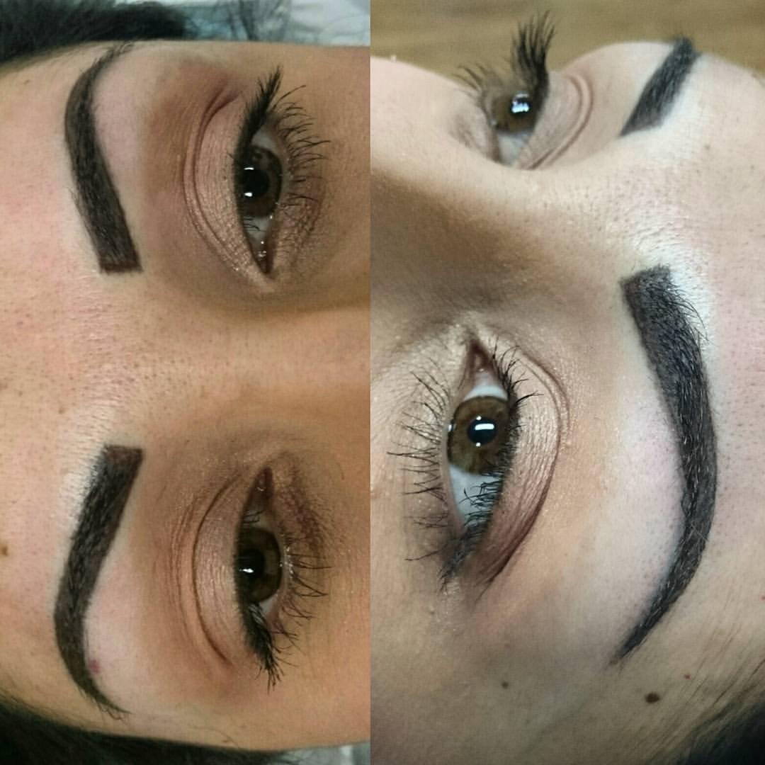 Powder Finish Eyebrows